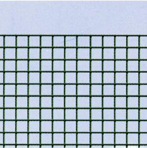 Rete metallica elettrosaldata plastificata