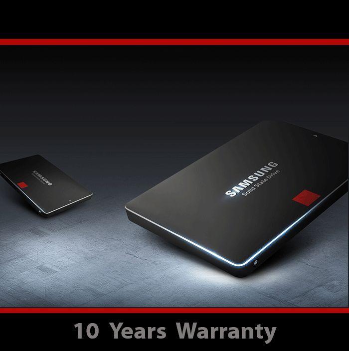 512GB SAMSUNG 850 Pro Series MZ-7KE512BW 2 5