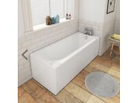 Brand new bath - Banbury premiercast acrylic round single ended bath 1600 x 700mm