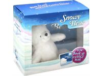 Snowy Bear Story Book + Soft Teddy Cuddly Plush Toy Great Gift For Children
