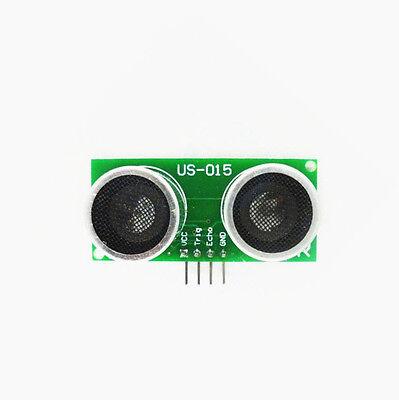 2pcs Us-015 Ultrasonic Module Distance Measuring Transducer Sensor Dc 5v