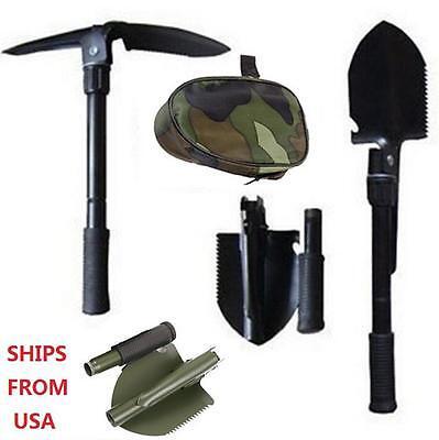 Multi-functional Military Folding Shovel Survival Spade Emergency Garden Camping