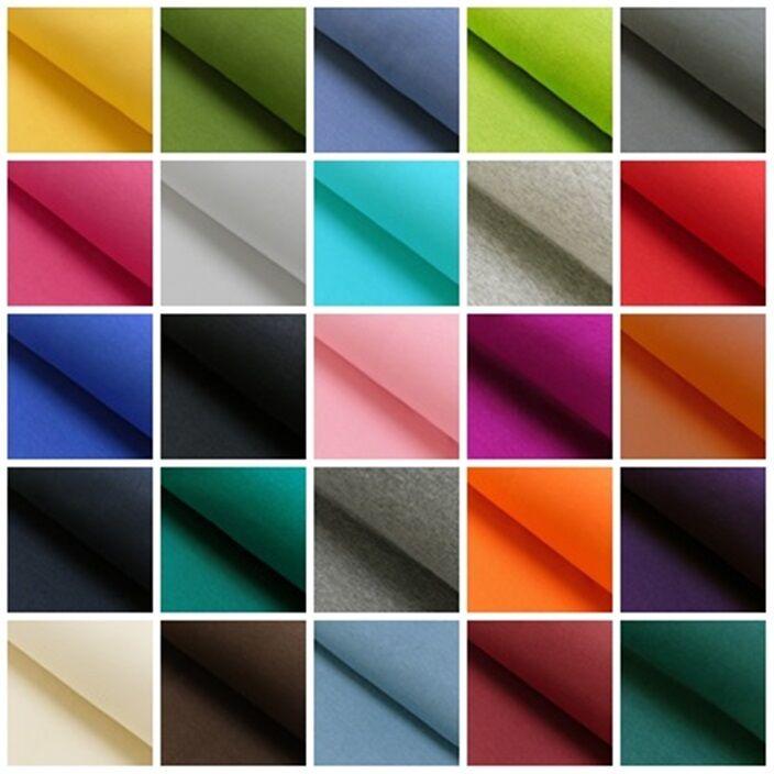 Bündchenstoff glatt 25 cm Meterware uni meliert Schlauch Feinstrick Farbauswahl