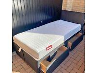 Divan 3ft Single Size Beds Optional