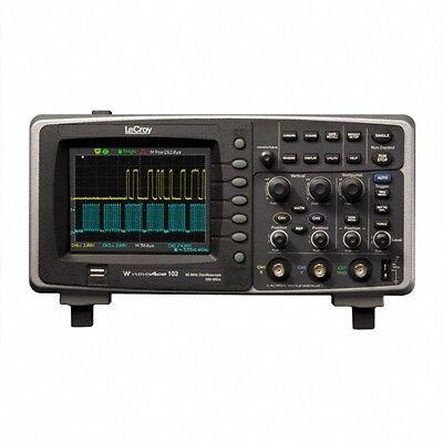 Lecroy Waveace 102 Digital Oscilloscope 60mhz 2ch 500mss Max 4kptsch Warranty