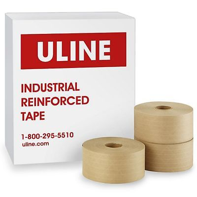 Brand New Uline Reinforced Tape S-2351 10 Rolls 3 By 450 Ft