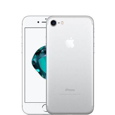 APPLE IPHONE 7 128GB SILVER + ACCESSORI + SPEDIZIONE + GARANZIA 12 MESI