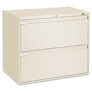 """Lateral File Cabinet - 36"""" Wide, 2 Drawer"""