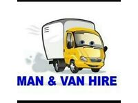 MAN WITH VAN REMOVALS PJ WOODHEAD REMOVALS ALSO RUBBISH CHEAPER THAN SKIP