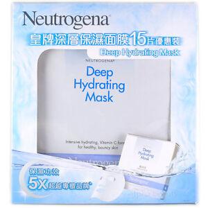Neutrogena hydrating facial