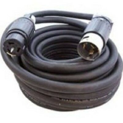 50 Amp 125250 Volt 50 Ft 64 Sow-a Rubber Spider Box Cord Ul Listed