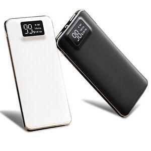 50000mAh Portable External Battery Charger Power Bank For iPhone iPad Samsung UK
