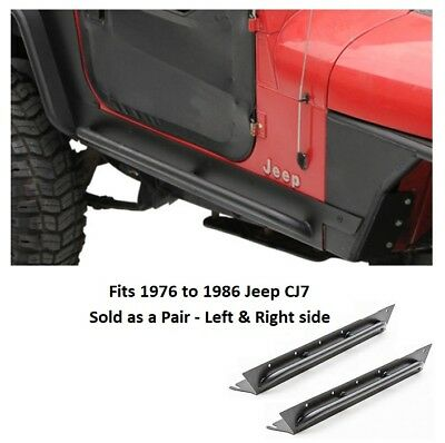 Jeep XRC Rock Sliders with Tube Step for 1976 to 1986 Jeep CJ7 Jeep Cj7 Rock Sliders
