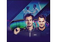 Floor tickets for Andy Murray v Roger Federer