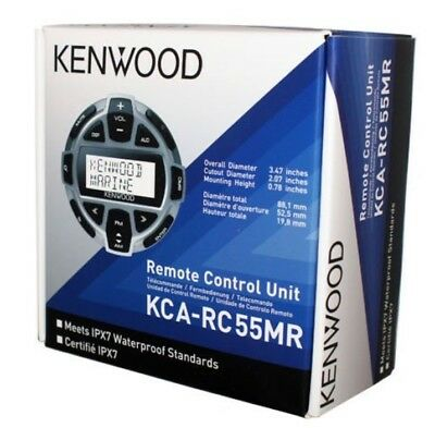 Kenwood KCARC55MR Wired Marine LCD Remote Control for Marine Receivers BRAND NEW - Marine Lcd Remote