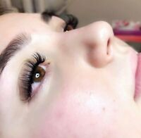 EYELASH EXTENSIONS $40 FULL SET/LASH LIFT $45