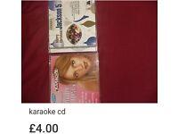 Karaoke albums (Britney spears & jackson 5 xmas album)