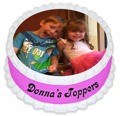 Soft & Sweet printed icing cake/cupcake toppers