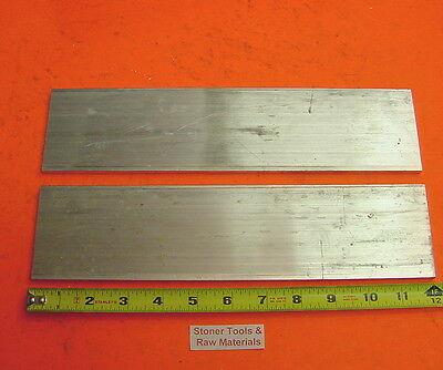 2 Pieces 18 X 3 Aluminum 6061 Flat Bar 12 Long T6511 New Mill Stock .125x 3