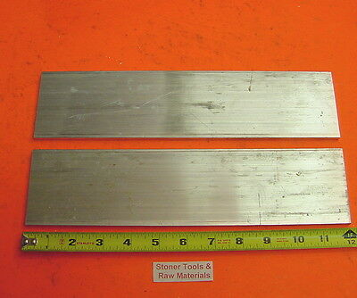 2 Pieces 14x 3 Aluminum 6061 T6511 Flat Bar 12 Long New Extruded Mill Stock