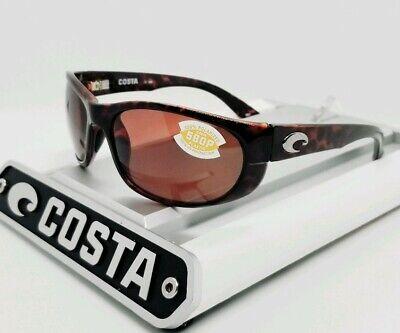 COSTA DEL MAR tortoise/copper HOWLER POLARIZED 580P sunglasses! NEW IN (Costa Howler 580p)