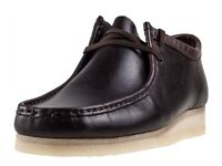 WALLABEES - MEN'S UK9 - CHESTNUT LEATHER - BRAND NEW