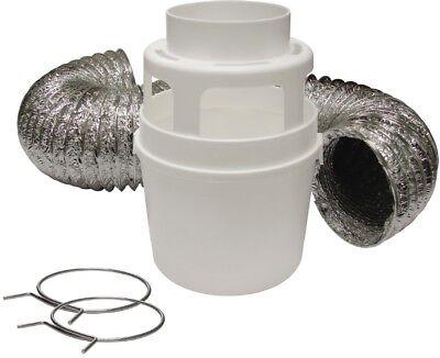 Lambro Indoor Hook-Up Dryer Vent Kit