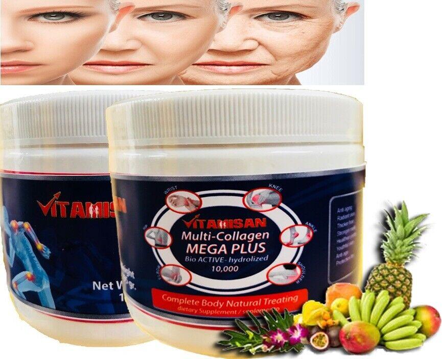 MEGA COLLAGEN PLUS  hydro collagen powder vitaminC colageina 10 colagina 21 XXI  2