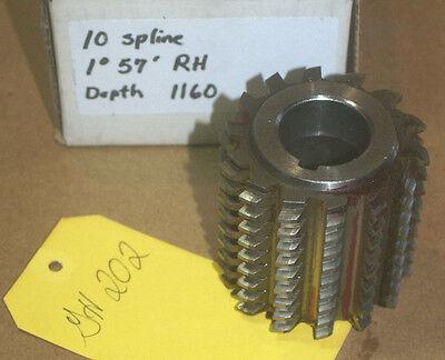 Gear Hob Cutter 1 14 Bore 12 Teeth 6 Dp Df .395 20 Pa 3 8 Lh 605-714 29xl 14