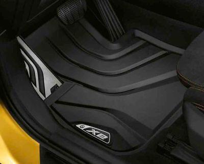 X2 BMW  OEM BLACK ALL WEATHER MATS  4 PIECE SET