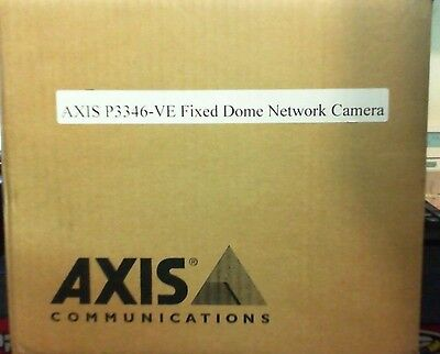 Axis P3346-ve 0371-001 3mp 1080p Hdtv Dn Vandal Resistant Outdoor Ip Camera New