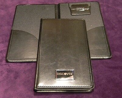 New 25 Pcs Discover Double Panel Restaurant Bill Check Presenterholder Book