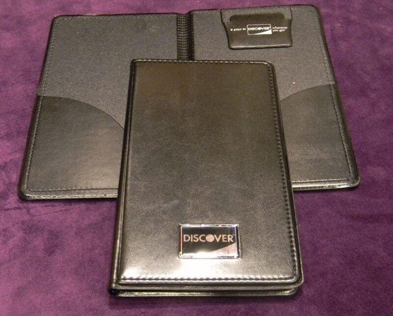 NEW 25 PCS Discover Double Panel Restaurant Bill Check Presenter/Holder Book