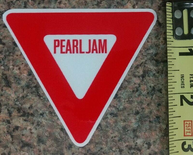Pearl Jam PJ Yield Concert Album Type REPRO Sticker Quality Gloss New!