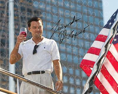 Wolf Of Wallstreet poster Dicaprio 8X10 photo picture signed autograph RP 1