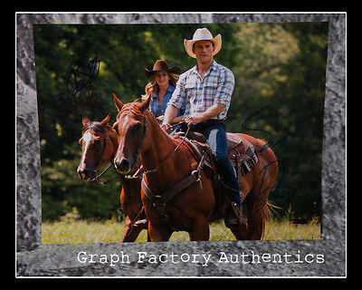 The Longest Ride   Britt Robertson   Scott Eastwood   Signed 11X14 Photo Ad1 Coa