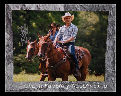 The Longest Ride   Britt Robertson   Scott Eastwood   Signed 11X14 Photo L4 Coa