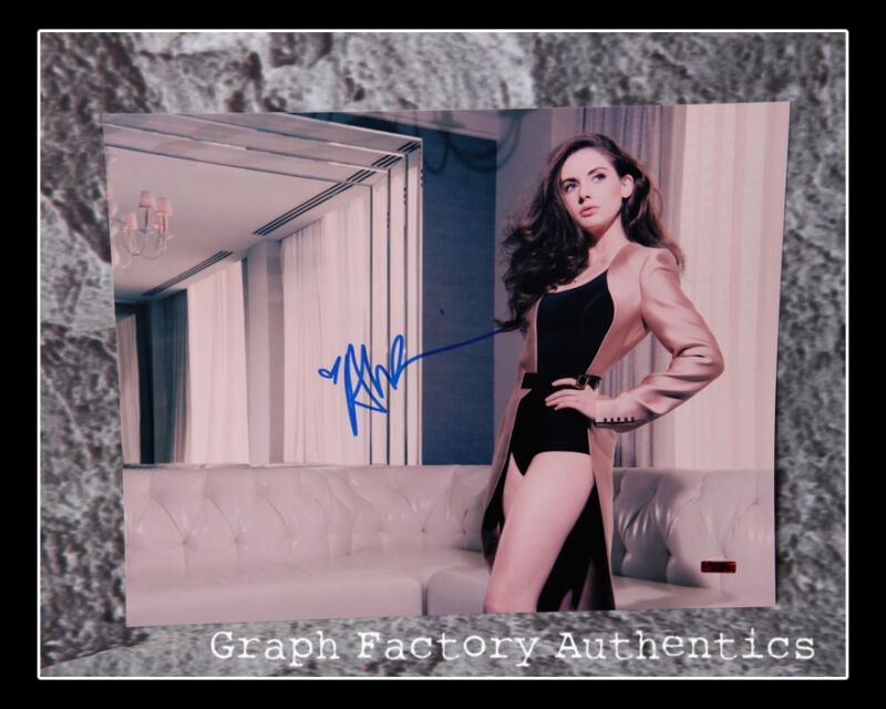 GFA Mad Men Sexy Star * ALISON BRIE * Signed 11x14 Photo AD1 PROOF COA