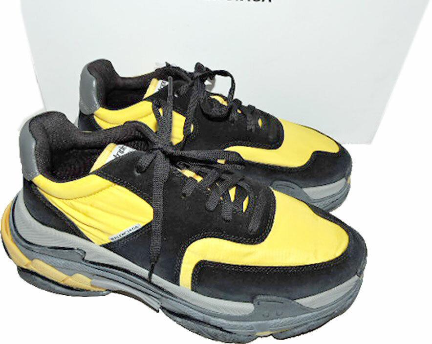 Sz 10 US 43 BALENCIAGA Sneakers Triple Tess S Gomma Trainer Retro Men Shoes