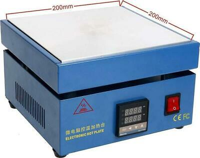 Soiiw 110v 850w Led Microcomputer Electric Hot Plate Preheat Soldering Station