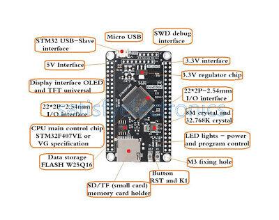 Stm32f407vet6 Development Board Stm32 System Core Board Mini Development Board S