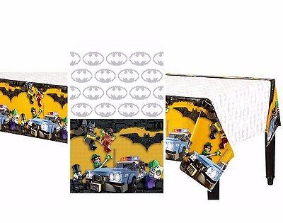 Lego Batman Movie Table Cover Child's Birthday Decorations Party Supplies Favors](Lego Batman Decorations)