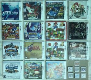 3DS GAMES_Poke. Moon/ Sun/ Y, Mario Kart 7 , Fire Emblem ...