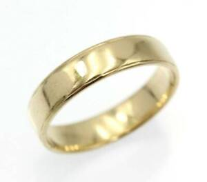 Angus And Coote 9ct Yellow Gold Unisex Ring Size Q - 412199