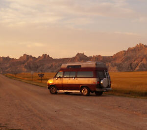 Chevy campervan for sale, 1987, excellent condition