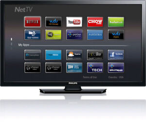 "40"" PHILIPS LED SMART TV - 1080P, NETFLIX, CAN DELIVER"