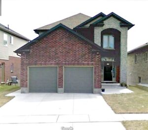 3 year new house with furniture & finished basement for rent