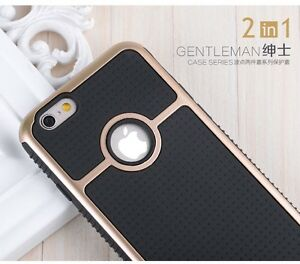 BLACK GOLD RING HEAVY DUTY SHOCKPROOF CASE COVER IPHONE 6,6S,6S+