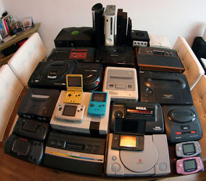 Recycling Old/Broken Video Game Systems/Computers