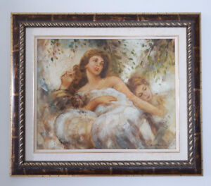 Canadian Art - Painting by Mike Harold - Signed - Great Frame
